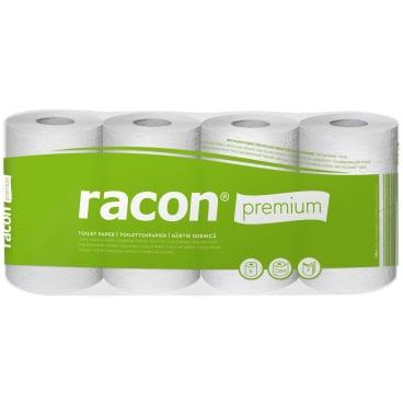 racon® premium Recycling-Tissue Toilettenpapier, 3-lagig, weiß