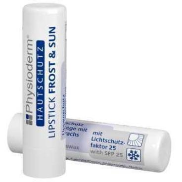 Physioderm Lipstick Frost & Sun Lippenpflegestift 1 Lippenpflegestift mit Lichtschutzfaktor 25