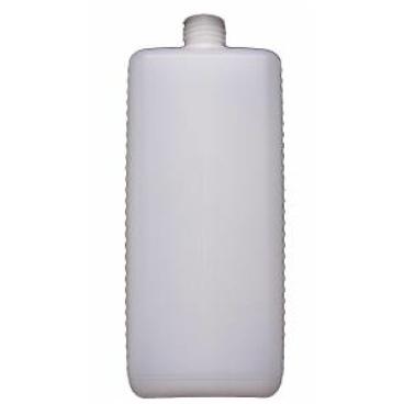 Leerflasche, eckig, Euroflasche mit Verschluss Fassungsvermögen: 500 ml