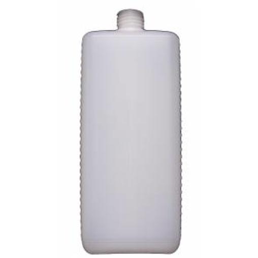 Leerflasche, eckig, Euroflasche mit Verschluss