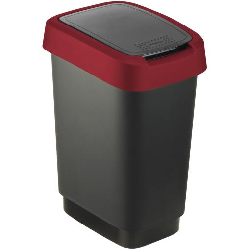 Rotho TWIST Abfalleimer, 10 Liter