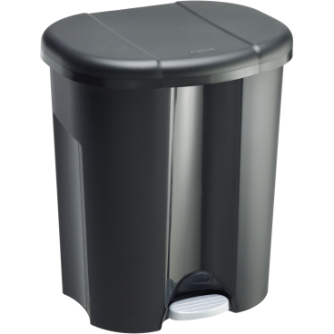 Fabulous Rotho TRIO Abfalleimer, 60 Liter , Farbe: schwarz online kaufen OV01