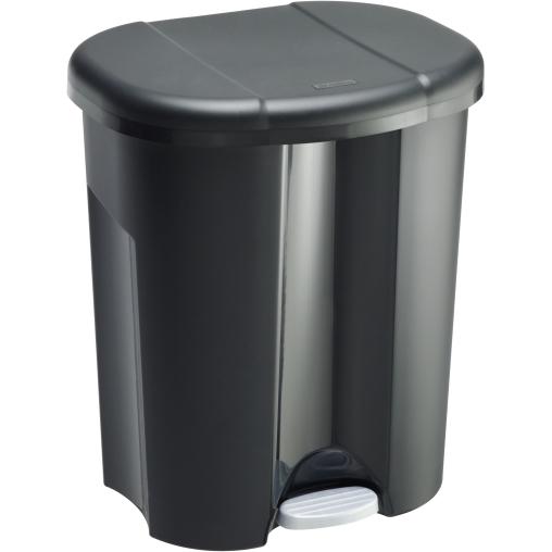 Rotho TRIO Abfalleimer, 60 Liter