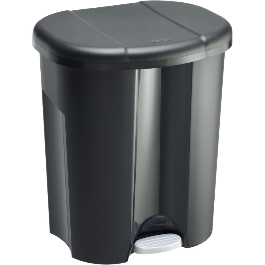 Relativ Rotho TRIO Abfalleimer, 60 Liter , Farbe: schwarz online kaufen HR65