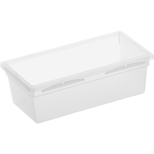 Rotho BASIC Schubladen-Ordnungssystem, transparent