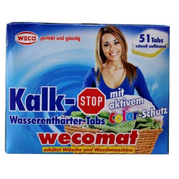 WECO Wecomat Kalk-Stop Wasserenthärter Tabs