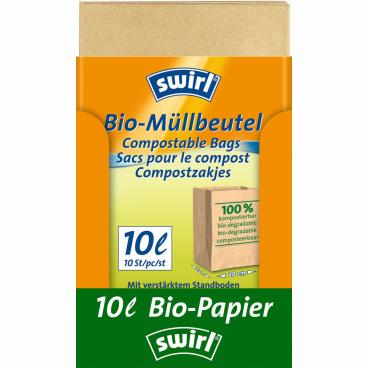 Swirl® Bioabfall-Beutel 10 l
