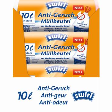 Swirl® Anti-Geruch Müllbeutel