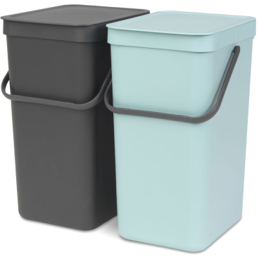 "Brabantia ""Sort and Go"" Einbaueimer"