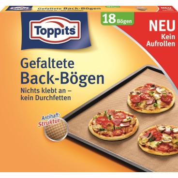 Toppits® Gefaltete Back-Bögen