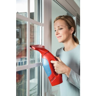Vileda Windowmatic Fenstersauger mit schmaler Saugdüse Set inkl. schmaler & breiter Saugdüse