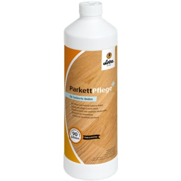 LOBACARE® ParkettPflege+ für lackierte Holzböden