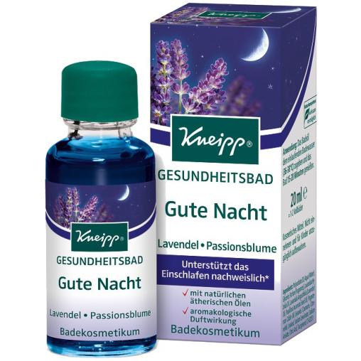 Kneipp® Gesundheitsbad Gute Nacht - Lavendel & Passionsblume