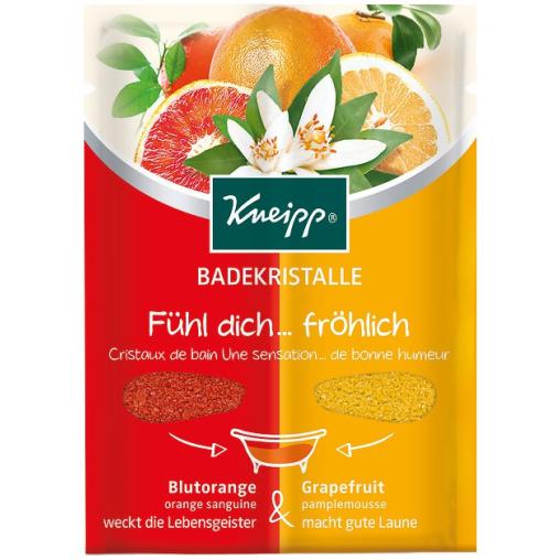 Kneipp® Badekristalle Fühl dich..fröhlich-Blutorange & Grapefruit