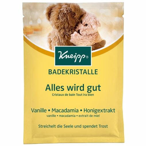 Kneipp® Badekristalle Alles wird gut- Vanille & Honig & Macadamia