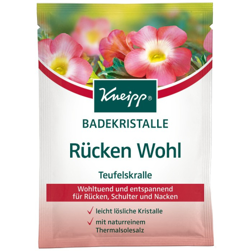 Kneipp® Badekristalle Rücken Wohl - Teufelskralle