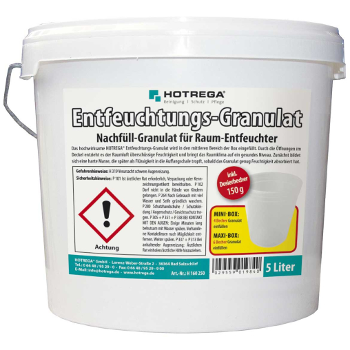 HOTREGA Entfeuchtungs-Granulat