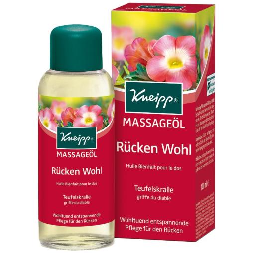Kneipp® Massageöl Rücken Wohl - Teufelskralle