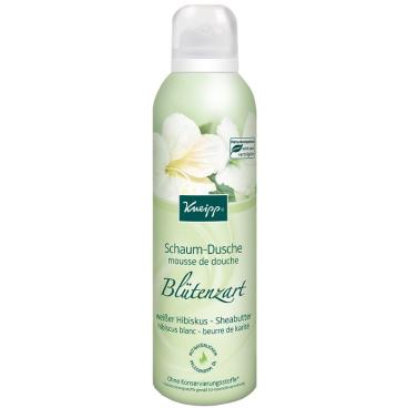 Kneipp® Schaum-Dusche Blütenzart - weißer Hibiskus & Sheabutter