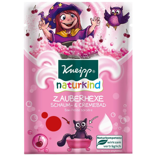 Kneipp® naturkind Zauberhexe Schaum- & Cremebad- Kirsche 2x 20ml