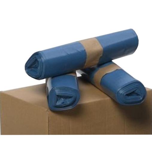 VAR Kunststoffsack, 70 Liter, blau