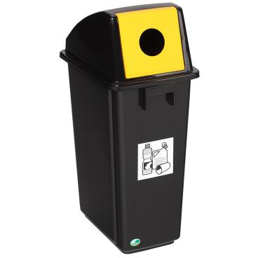 VAR Kunststoff-Wertstoffsammler, 58 Liter