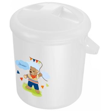Rotho Babydesign Bella Bambina Windeleimer, 10 Liter, bedruckt