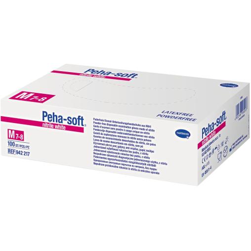 Peha-soft® nitrile white Einmalhandschuhe