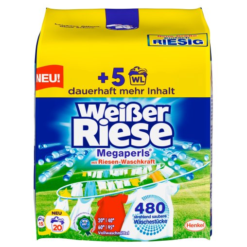 Weißer Riese Megaperls® Waschmittel