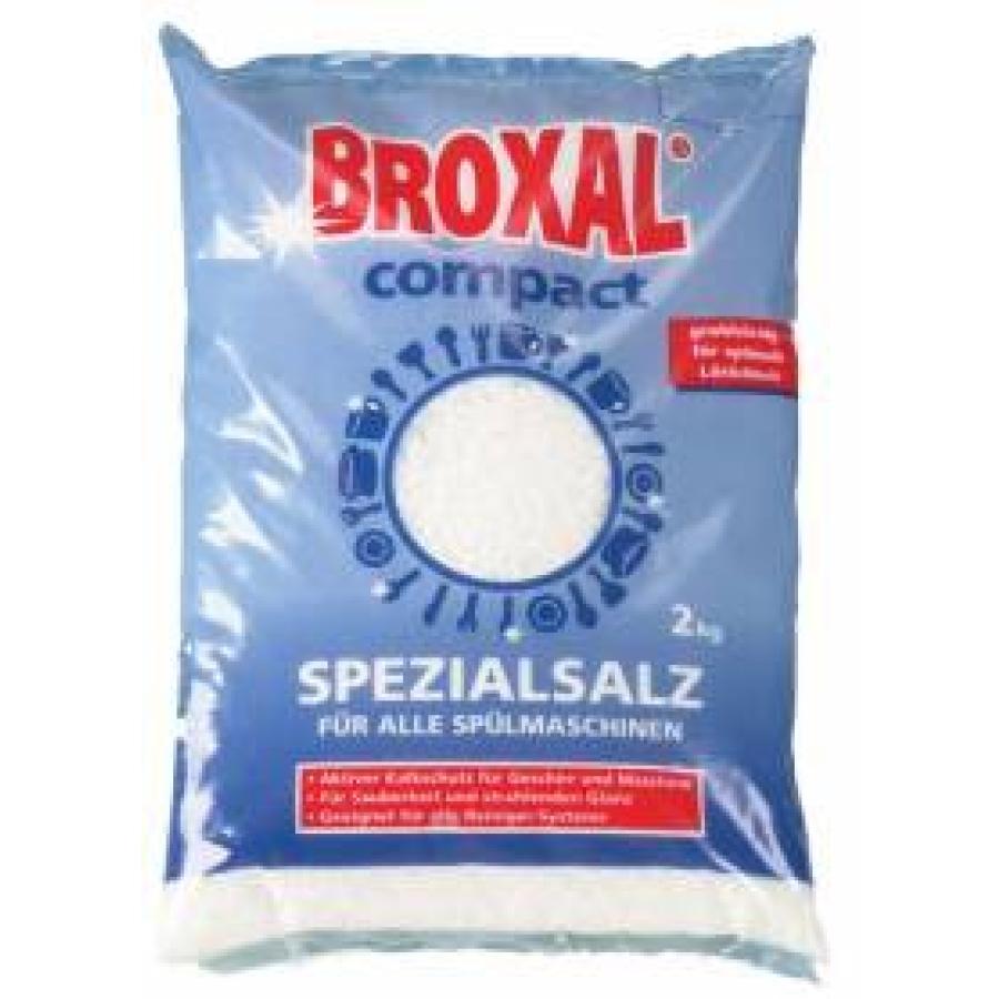 Broxal Classic fein 12x2 kg Regeneriersalz Spezialsalz Spülmaschinensalz