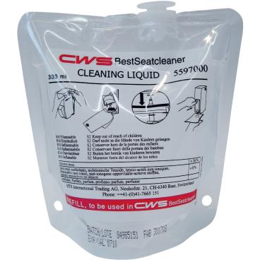 CWS Reinigungs-Liquid Toilettenreiniger 1 Karton = 12 x 300 ml - Beutel