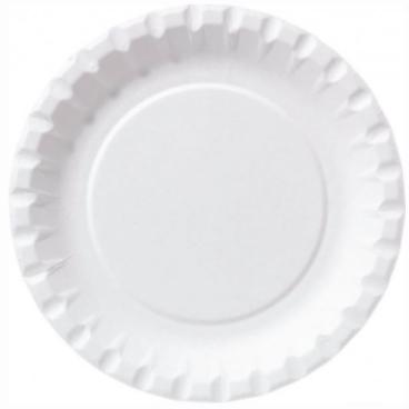 DUNI Pappteller, rund, Ø 18 cm