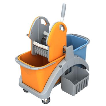 Cleankeeper Doppelfahreimer 3 mit Kunststoffpresse
