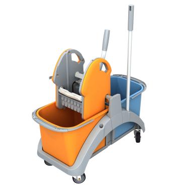 Cleankeeper Doppelfahreimer 5 mit Kunststoffpresse