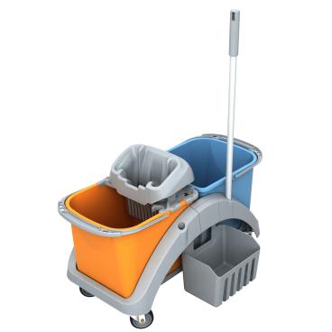 Cleankeeper Doppelfahreimer 13 mit Kunststoffwringer