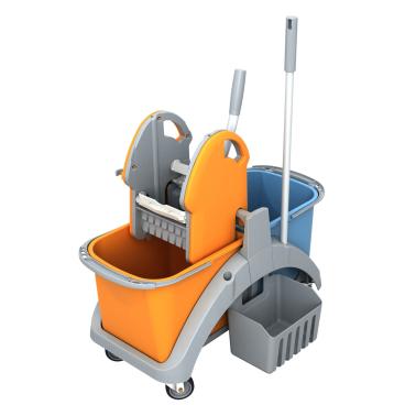 Cleankeeper Doppelfahreimer 6 mit Kunststoffpresse