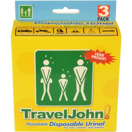 TRAVEL JOHN Wegwerf-Urinal