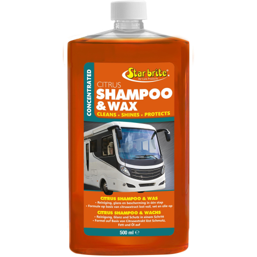 Star brite Caravan Shampoo & Wachs mit Citrusduft