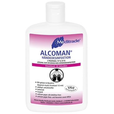 Meditrade ALCOMAN® Händedesinfektionsmittel