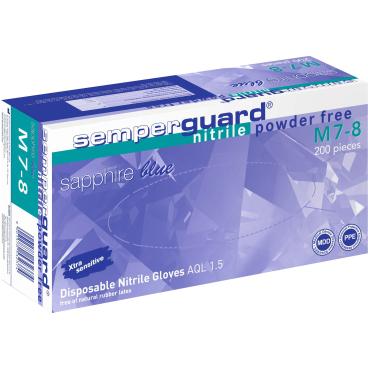 Semperguard® Einmalhandschuhe Sapphire blue, Großpackung