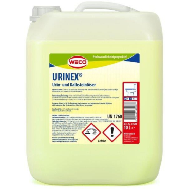 WECO Urinex Urin- und Kalksteinlöser 10 l - Kanister