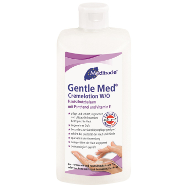 Gentle Med® Cremelotion (W/O)