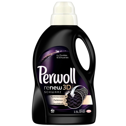 Perwoll Schwarz & Faser renew Advanced Flüssigwaschmittel
