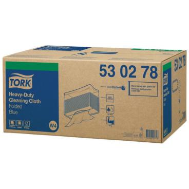 Tork Premium Reinigungstücher 530 - Einzeltuch 1 Karton = 5 Beutel x 100 Tücher = 500 Tücher