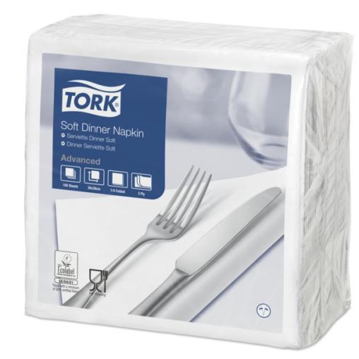 Tork Soft Dinner Servietten, 39 x 39 cm