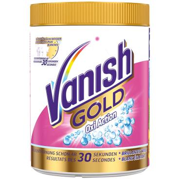 Vanish Gold Oxi Action Fleckentferner Pulver für Weißes