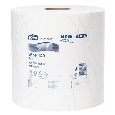 Tork Advanced Wischtuch 420, Großrolle, hochweiß Maße: 37 x 34 cm