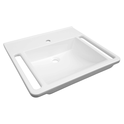 AVENARIUS Serie free living! Waschtisch, 600 mm, eckig