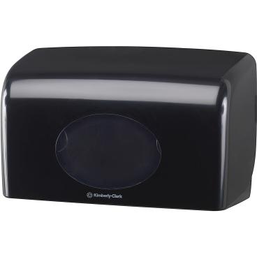 Kimberly-Clark Aquarius Toilettenpapier- Spender, schwarz