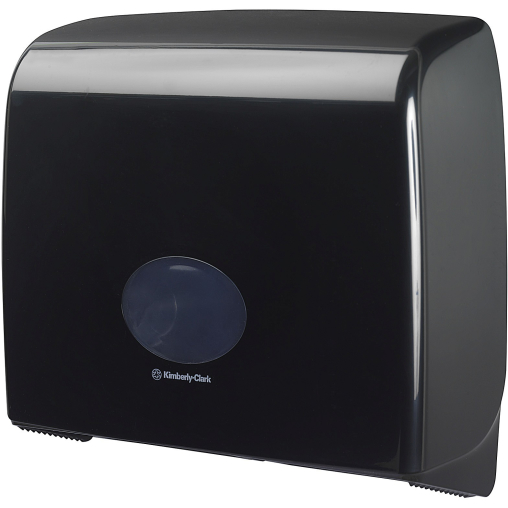 Kimberly-Clark AQUARIUS Topa-Spender, schwarz